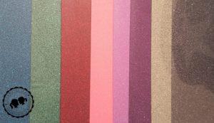 Glitzerfolien: Blau, Grün, Pink, Neon Pink, Neon Lila, Volett, Silber, SilberSchwarz