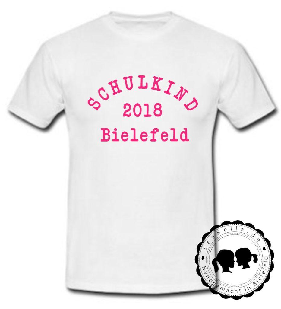 TShirt Schulkind 2018 Bielefeld